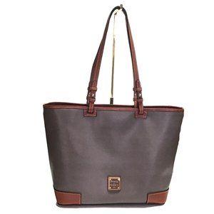 Dooney & Bourke Saffiano Leisure Shopper Tote Bag